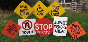 2D Old Age Traffic Signs